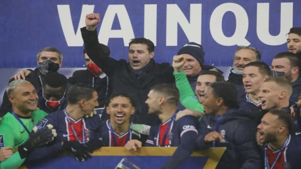Pochettino lifted his first managerial trophy at PSG - FirstSportz