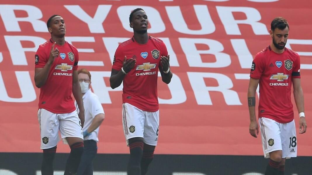 Manchester United shed light on the return dates of Paul Pogba, Bruno Fernandes, Anthony Martial, and Donny van de Beek