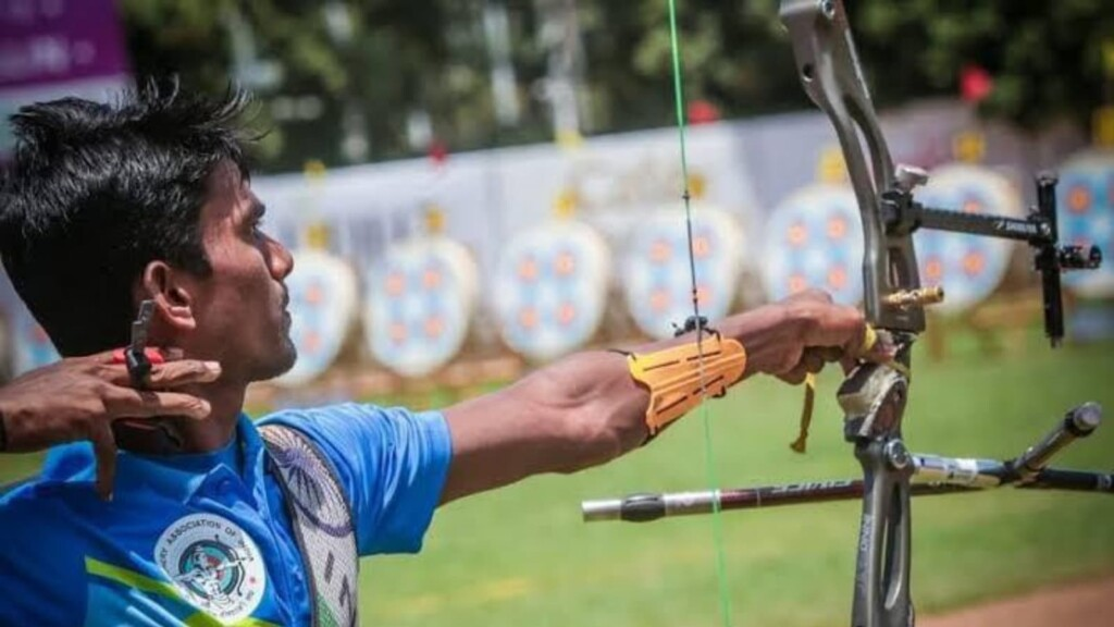 Pravin Jadhav, Archery at Tokyo Olympics