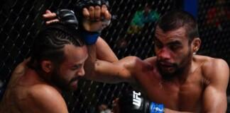 Raulian Paiva at UFC Vegas 32
