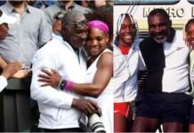 Richard Williams with daughters Venus Williams and Serena Williams