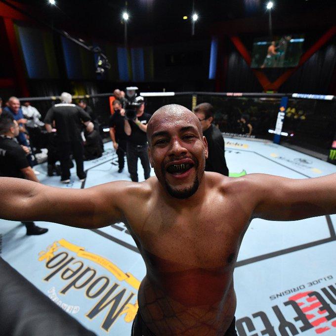 Rodrigo Nascimento vs. Alan Baudot UFC Vegas 31