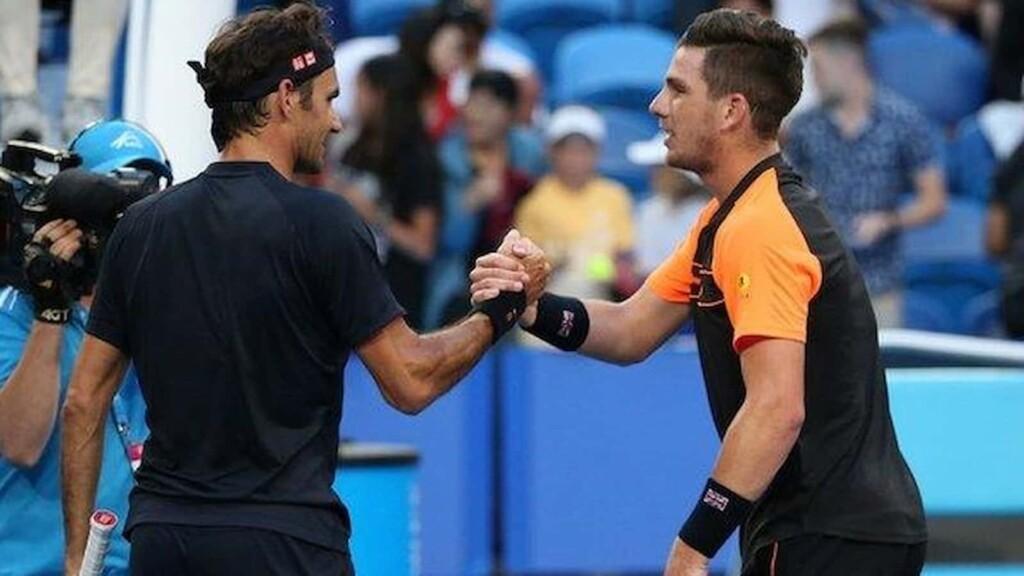 Roger Federer and Cameron Norrie