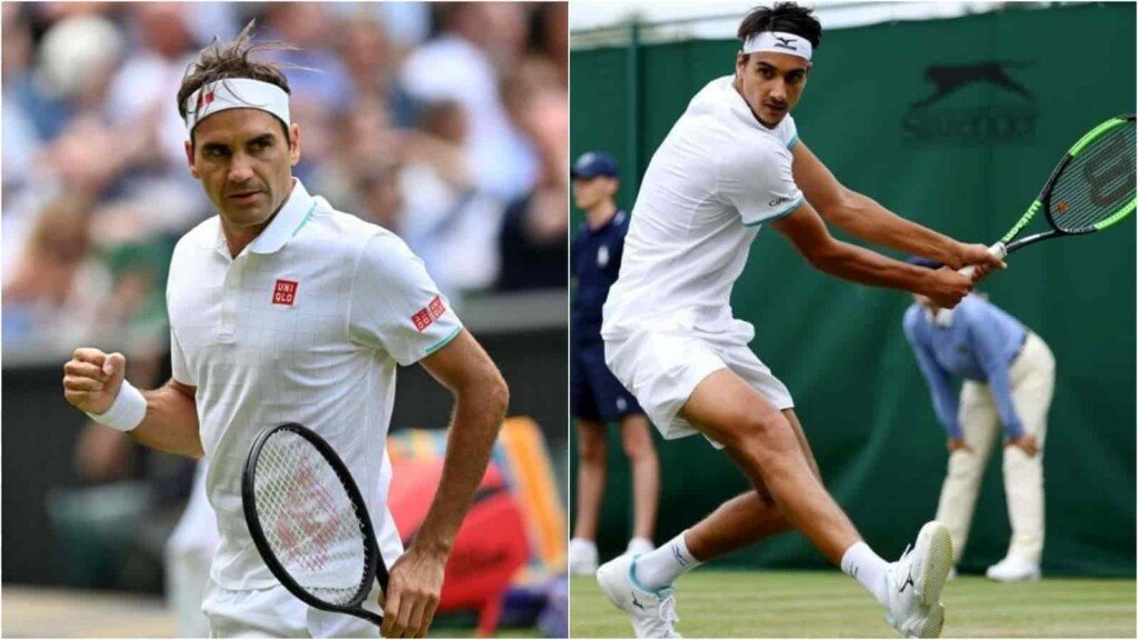 Roger Federer vs Lorenzo Sonego will clash in the 4th round of the Wimbledon 2021