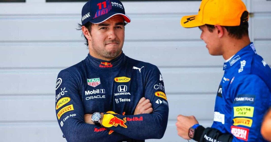 Ross Brawn on Lando Norris and Sergio Perez