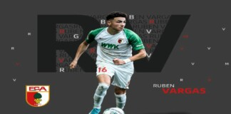 Ruben Vargas extends his contract with FC Augsburg until 2025