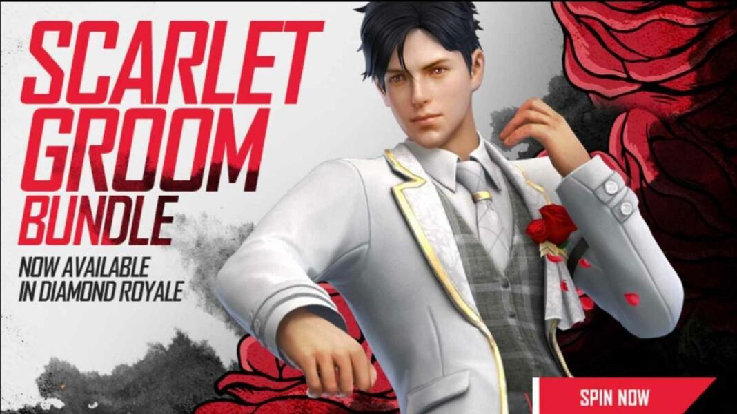 Scarlet Groom Bundle in Free Fire
