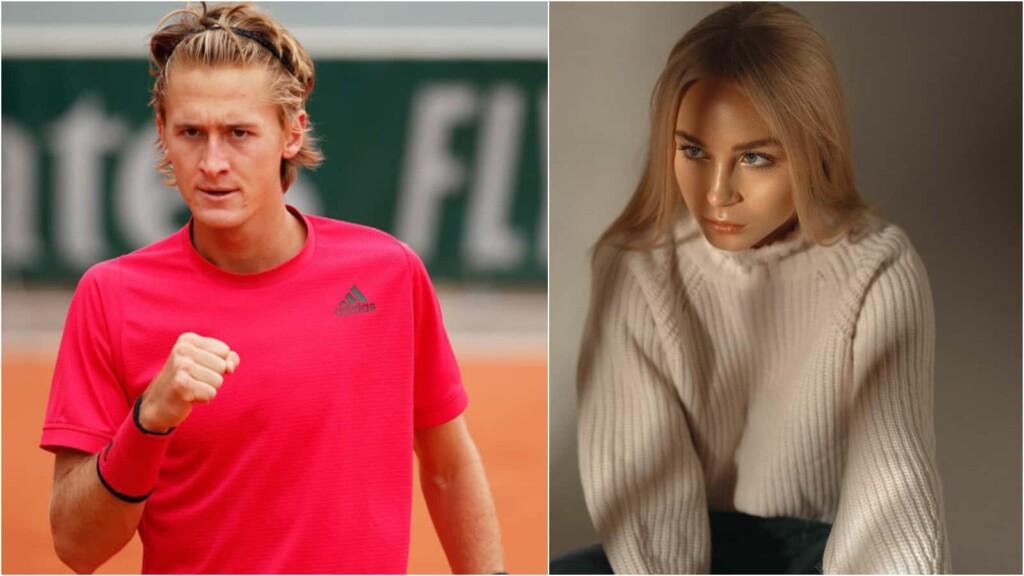 Sebastian Korda's girlfriend Ivana Nedved