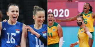 Serbia vs Brazil
