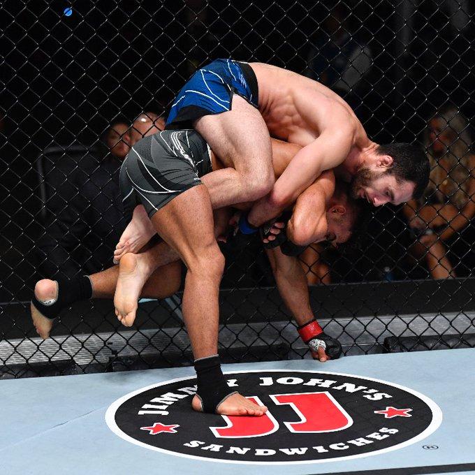 Sergey Morozov vs. Khalid Taha UFC Vegas 31