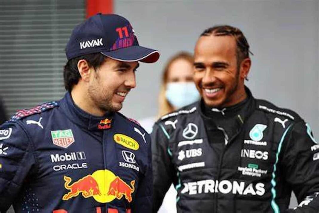 Sergio Perez on Lewis Hamilton