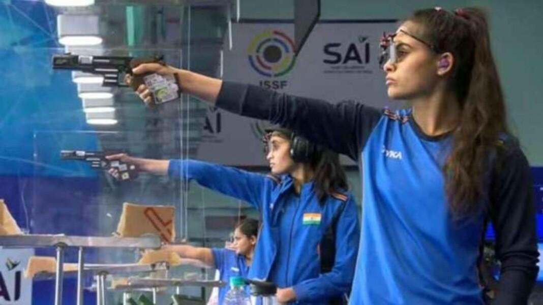 Shooting at Tokyo Olympics, Manu Bhaker and Yashaswini Deswal