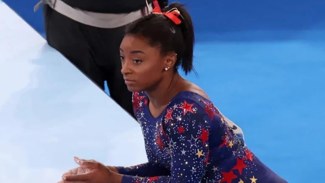 Simone Biles at Qualification in Tokyo Olympics