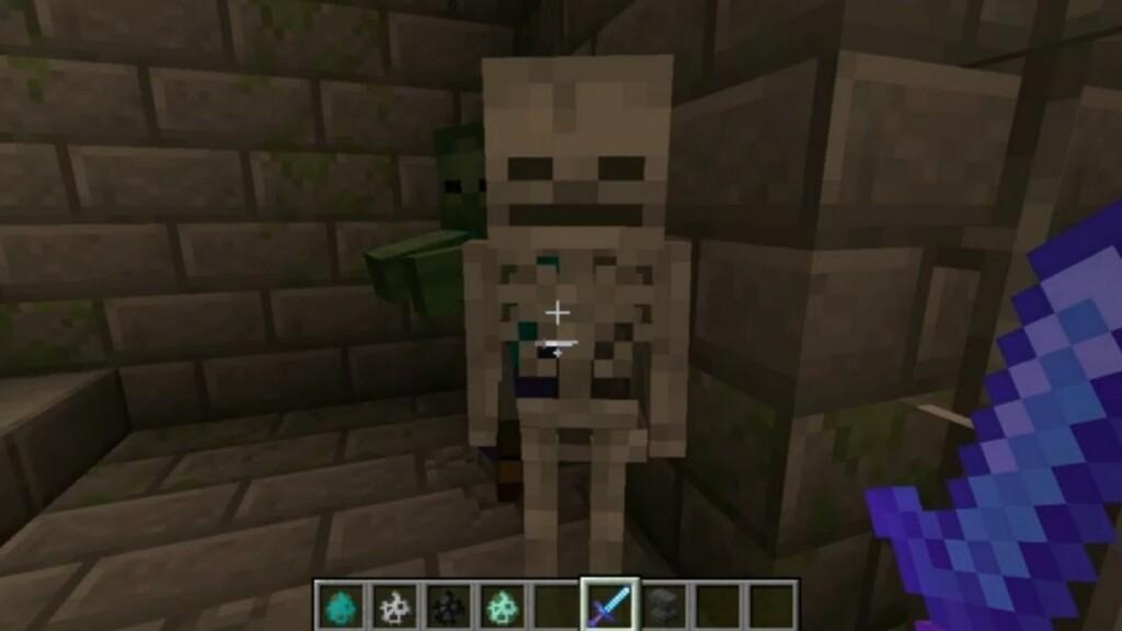 Smite in Minecraft