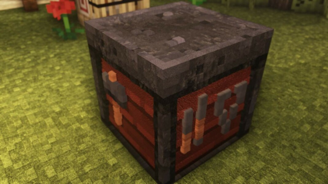 Smithing Table in Minecraft