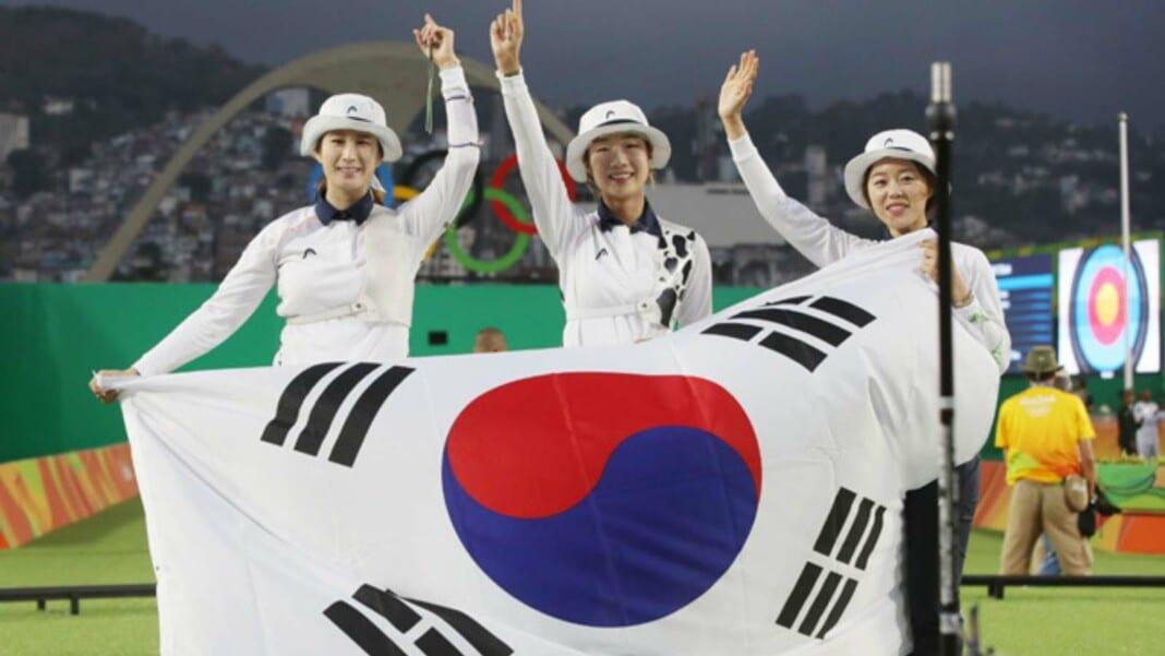 South Korea Archery Team