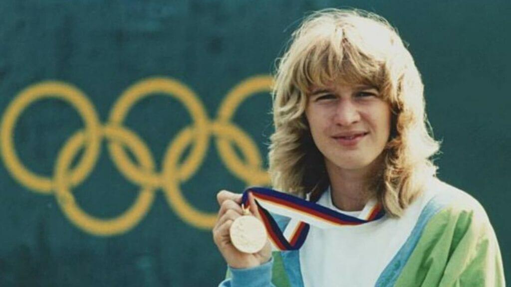 Steffi Graf Olympic Medal