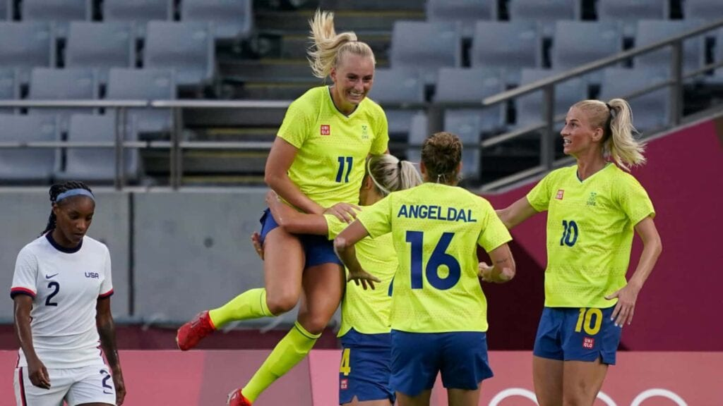Sweden defeat USWNT