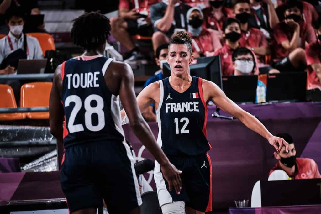 Team France in 3v3 Women's Basketball