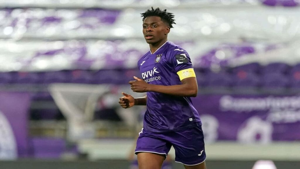 The 21-year old, Lokonga was named Anderlecht's club captain in December