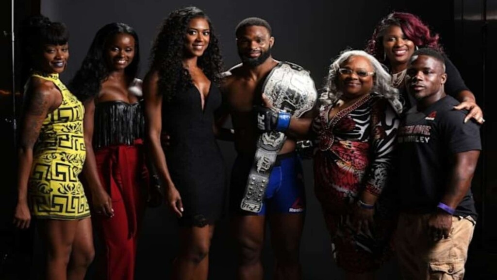 Tyron Woodley family