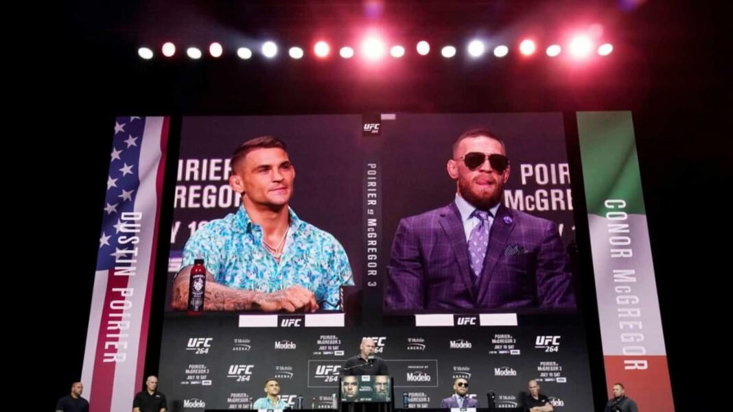 UFC 264 press