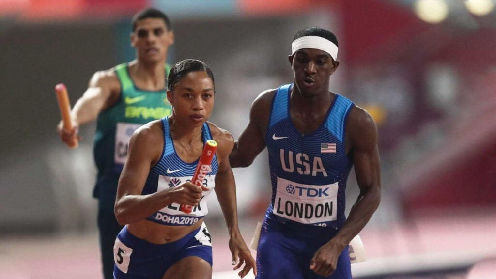 USA 4x400 meters mixed team relay