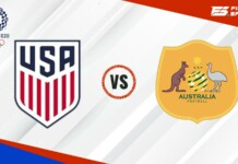 USA vs Australia