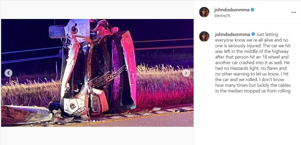 John Dodson's Instagram post