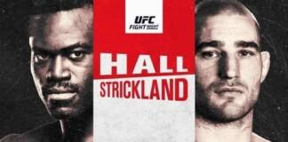 Uriah Hall vs Sean Strickland Prediction