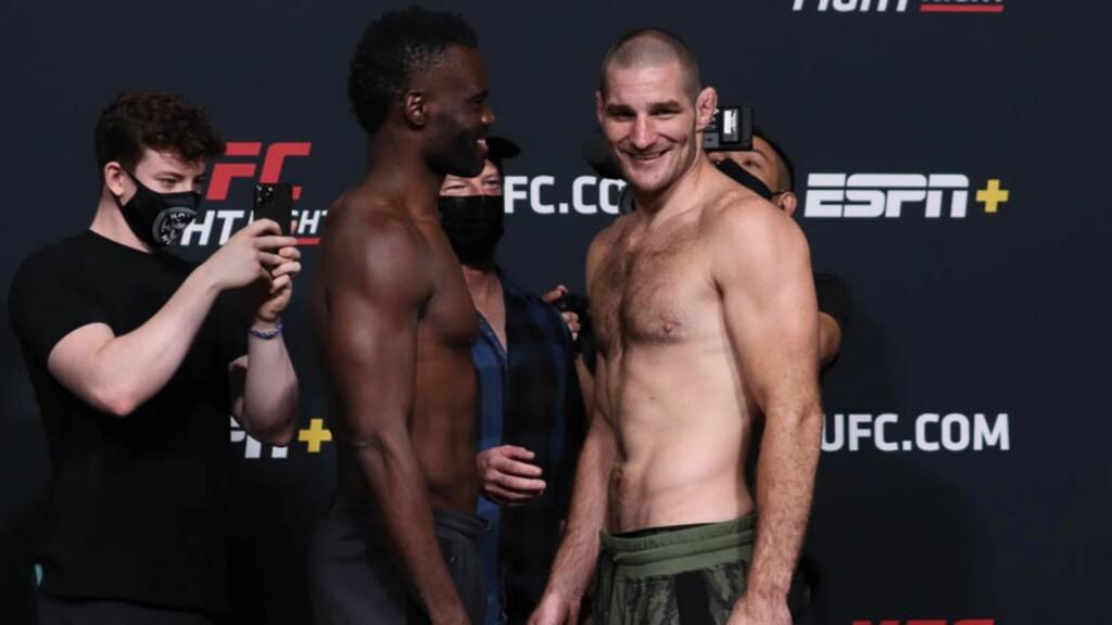 Uriah Hall vs Sean Strickland UFC Vegas 33