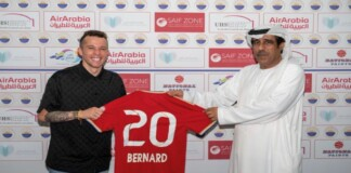 Bernard set to leave Everton and join Sharjah FC on a two-year deal