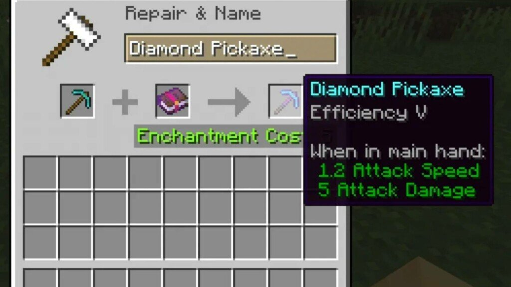 best Enchantments for Minecraft Pickaxe