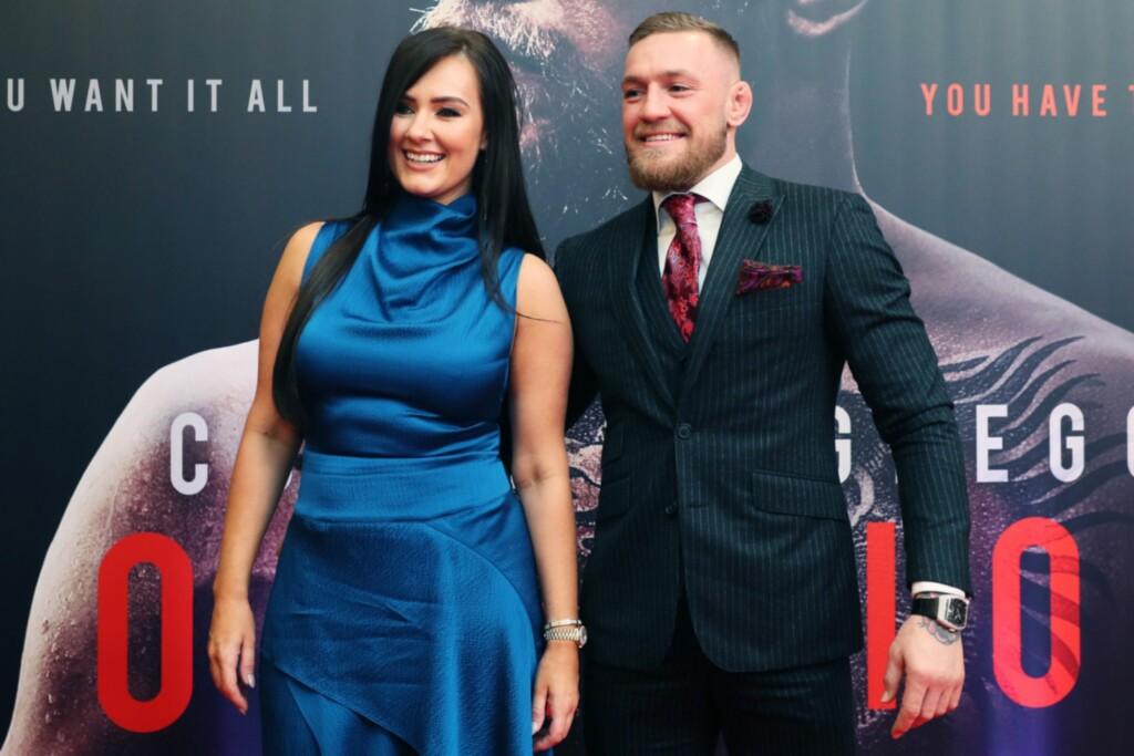 Conor McGregor and Dee Devlin