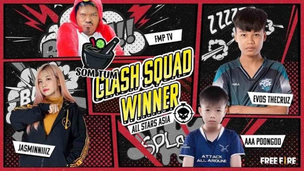 FFAS 2021 Clash Squad Winners
