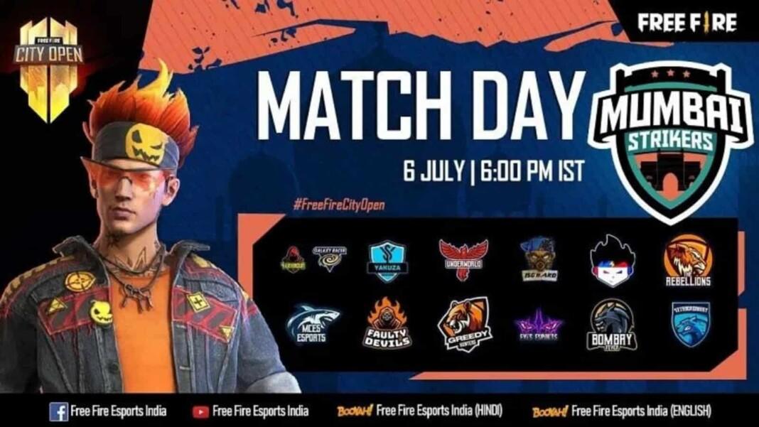 Free Fire City Open Mumbai Finals