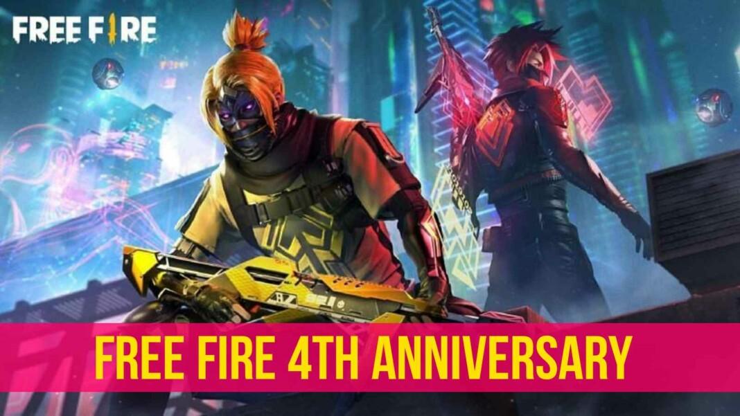 Free Fire 4th Anniversary
