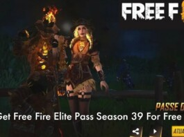 Free Fire Elite Pass Season 39