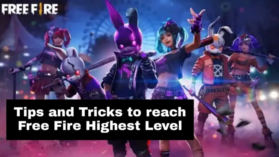 Free Fire highest level