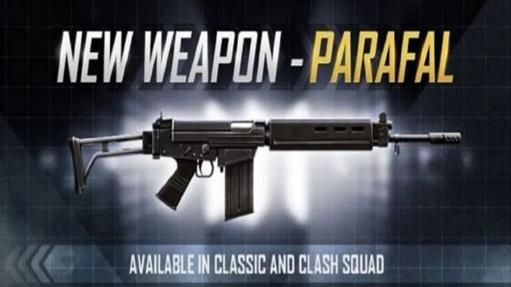 Parafal In Free Fire