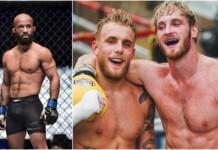 Demetrious Johnson, Jake Paul and Logan Paul