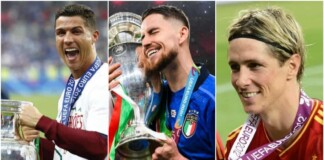 players to have won the Champions league and EURO Cup