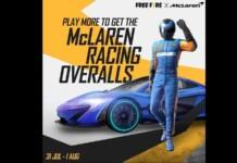 Free Fire X McLaren Event