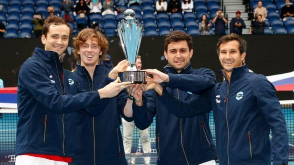 rublev russia team