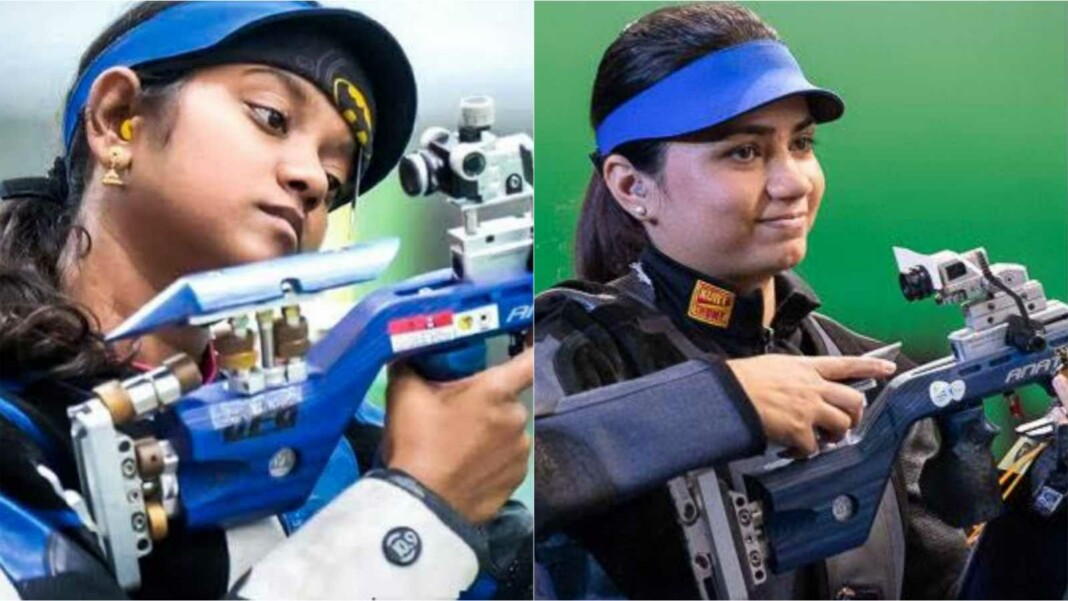 shooting at Tokyo Olympics, Elavenil Valarivan and Apurvi Chandela