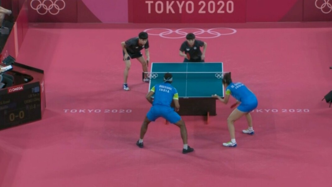 table tennis at Tokyo Olympics
