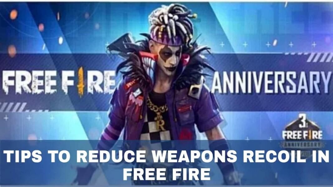 gun recoil in free fire