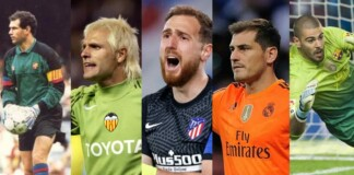 top 5 goalkeepers in La Liga