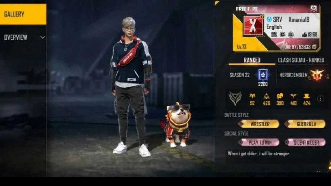 X-Mania Free Fire ID