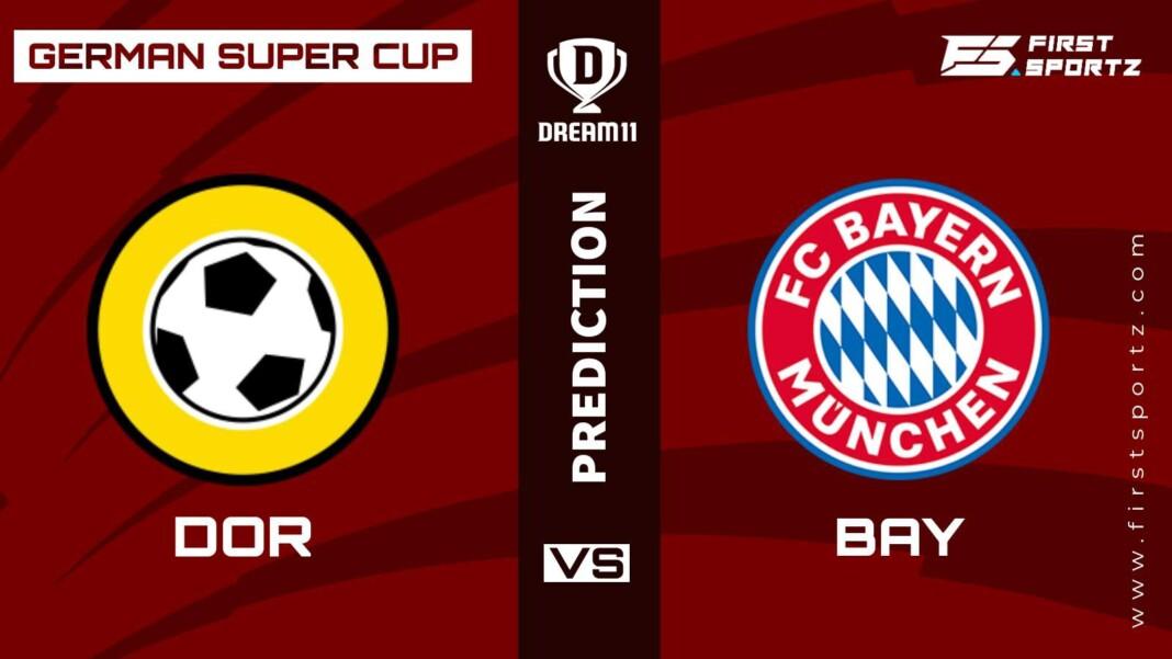 German Super Cup: Borussia Dortmund vs Bayern Munich Dream11 Prediction, Playing XI, Teams, Preview, and Top Fantasy picks